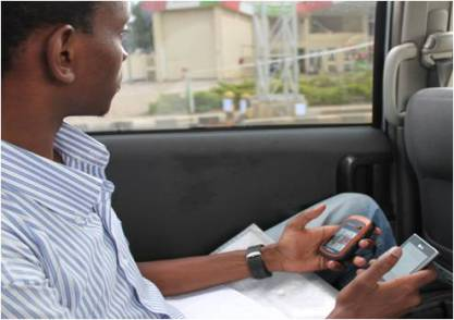 Collecting Transit Data Nairobi: Courtesy Digital Matatus
