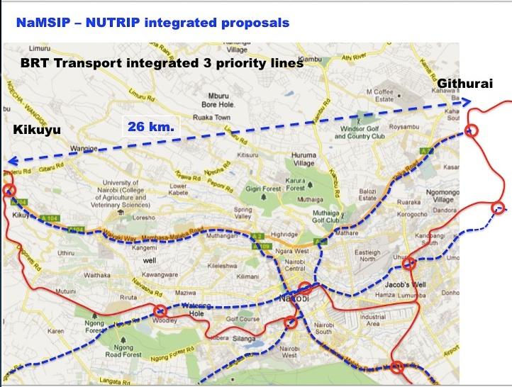 BRT Nairobi Planning Innovations - Where is nairobi